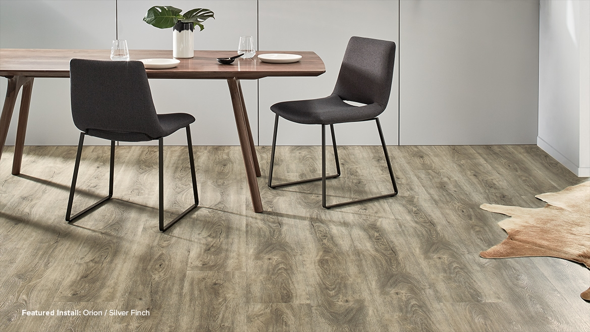 Vinyl Flooring Gallery Orion Silver Finch Godfrey Hirst
