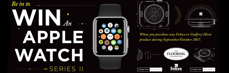 Win an Apple Watch with The Flooring Foundation