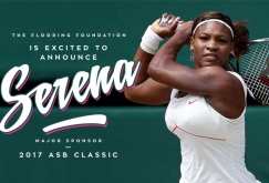Serena Williams | ASB Classic 2017 | The Flooring Foundation